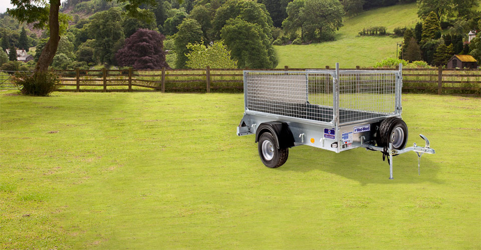 P6e Ifor Williams Small Unbraked, Westwood New Trailers