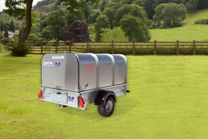 P6e Ifor Williams Small Unbraked, Westwood New Trailers, Tailboard & Canopy