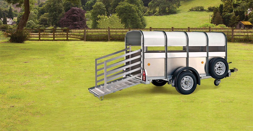 P8g Ifor Williams Livestock, Westwood New trailers,