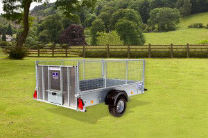 P8e Ifor Williams Small Unbraked, Westwood New Trailers, Ramp & Mesh,