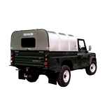 Vehicle Canopy (with Panel and Window) Ifor Williams