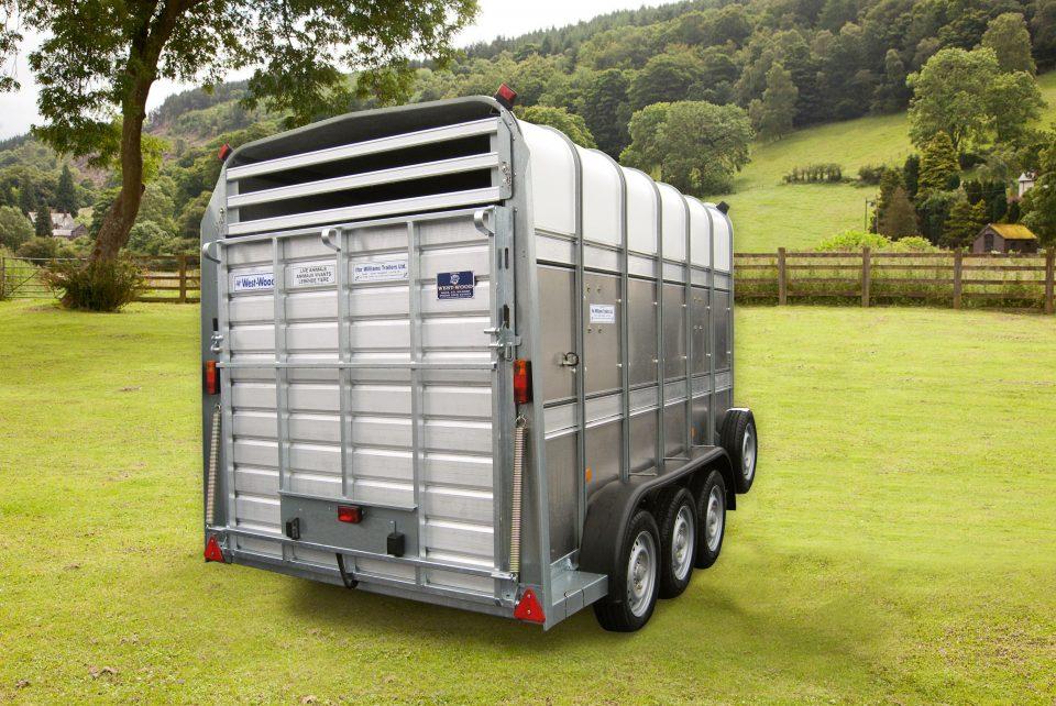 TA510 Ifor Williams Livestock, Westwood New Trailers, 12 X 7 TRI AXLE,