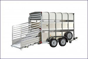 TA510G 10 Ifor Williams Livestock, Westwood New Trailers