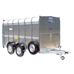 TA510 12 Ifor Williams Livestock Trailer.