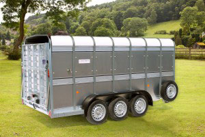 TA510G 14 Ifor Williams Livestock, Westwood New Trailers,