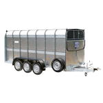 TA510 14 Ifor Williams Livestock Trailer.