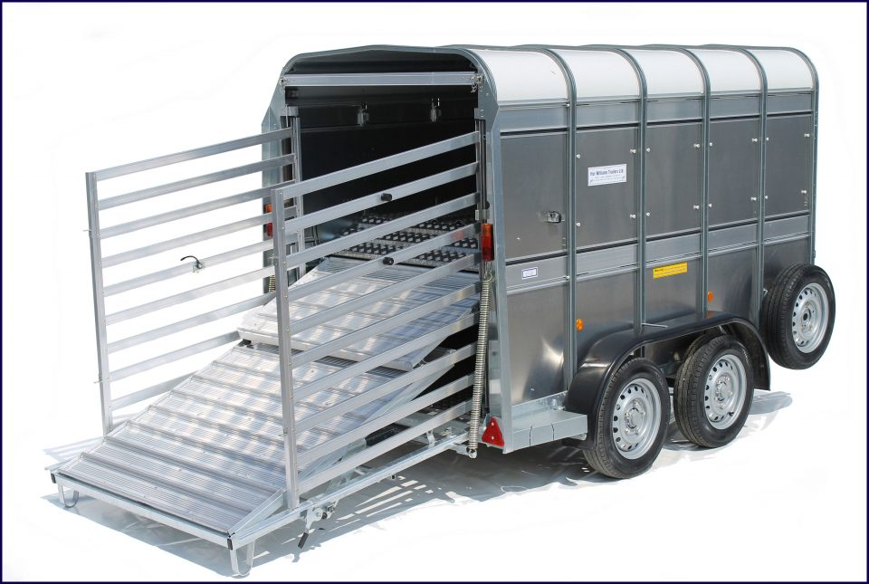 TA5G 8 Ifor Williams Livestock, Westwood New Trailers, Deck