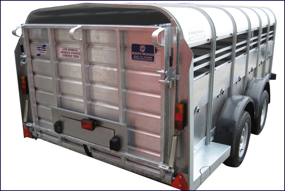 TA5G 12 Ifor Williams Livestock, Westwood New Trailers,
