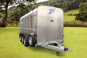 TA5G 14 Ifor Williams Livestock, Westwood New Trailers,