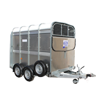 TA5 8 Ifor Williams Livestock Trailer