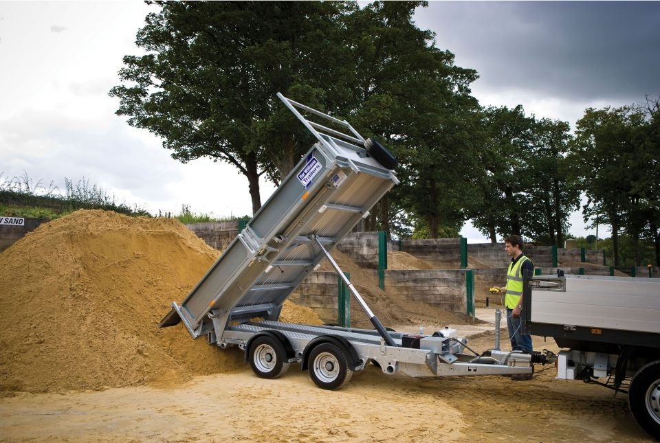TT3621 Ifor WIlliams Tipper, Westwood New Trailers,