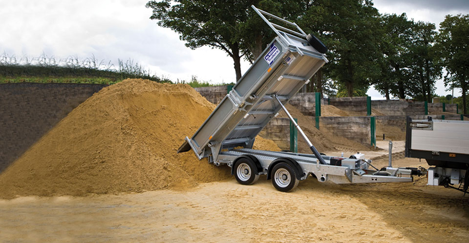 TT3017 Ifor Williams Tipper, Westwood New Trailers