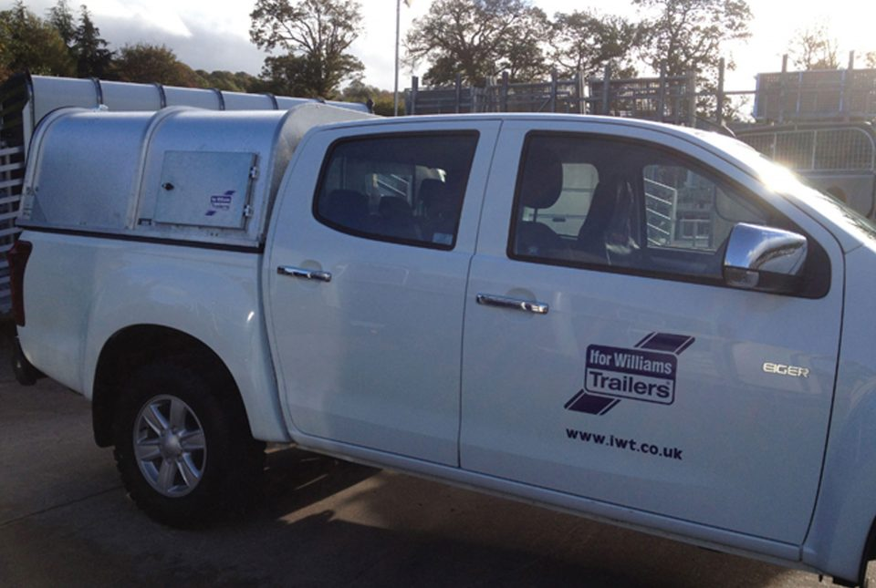 Toyota GX Ifor WIlliams Canopy, Westwood New Trailers,