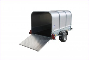 P63 Ifor Williams Small Unbraked, Westwood New Trailers, Canopy
