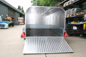 P8E Ifor Williams Small Unbraked, Westwood New Trailers, RAMP AND CANOPY