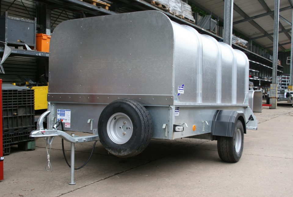 P8E Ifor Williams Small Unbraked, Westwood New Trailers, Ramp and Canopy.