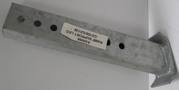 Support Ramp Leg Holes GX106/GX126 L/H Or R/H (New)