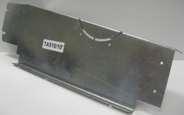 Foot Plate Rear TA5 / TA510 10' LHS
