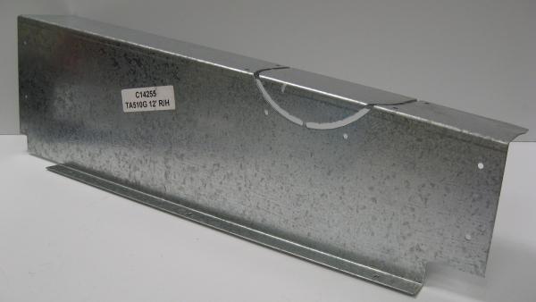 Foot Plate Rear TA510 12' RHS