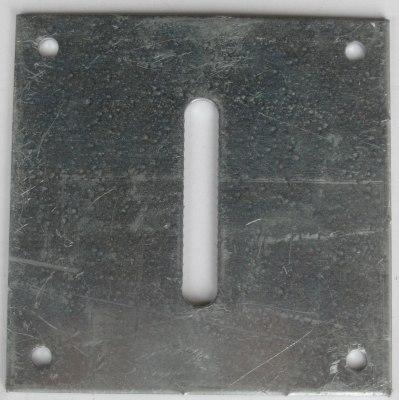 Floor Bracket Centre Partition Pole HB506 / HB511