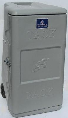 Tack Box On Wheels (Silver)