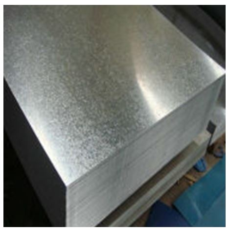 Flat Galvanised Sheet - 8' x 4' x 1mm